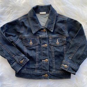Wrangler denim jean snap up jacket size 24 month